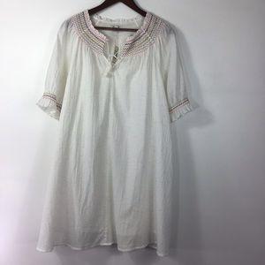 Madewell White Dress NWT